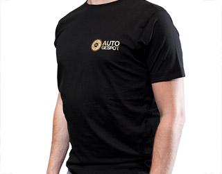 Autogespot shirt (Gold)