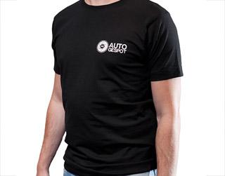 Autogespot shirt (Silver)